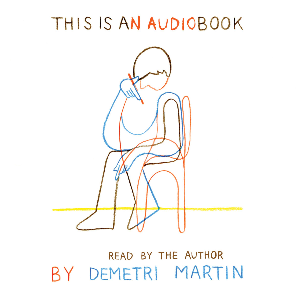 Printable This Is an AudioBook Audiobook Cover Art