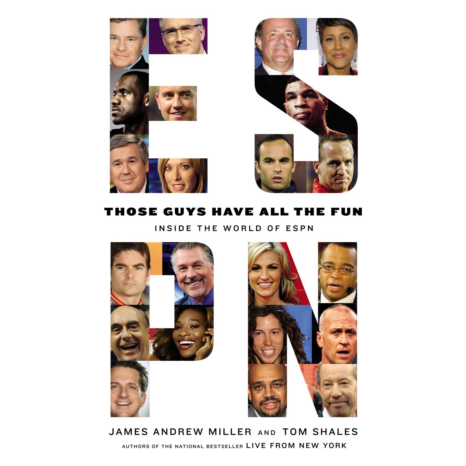Printable Those Guys Have All the Fun: Inside the World of ESPN Audiobook Cover Art