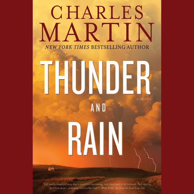Printable Thunder and Rain: A Novel Audiobook Cover Art