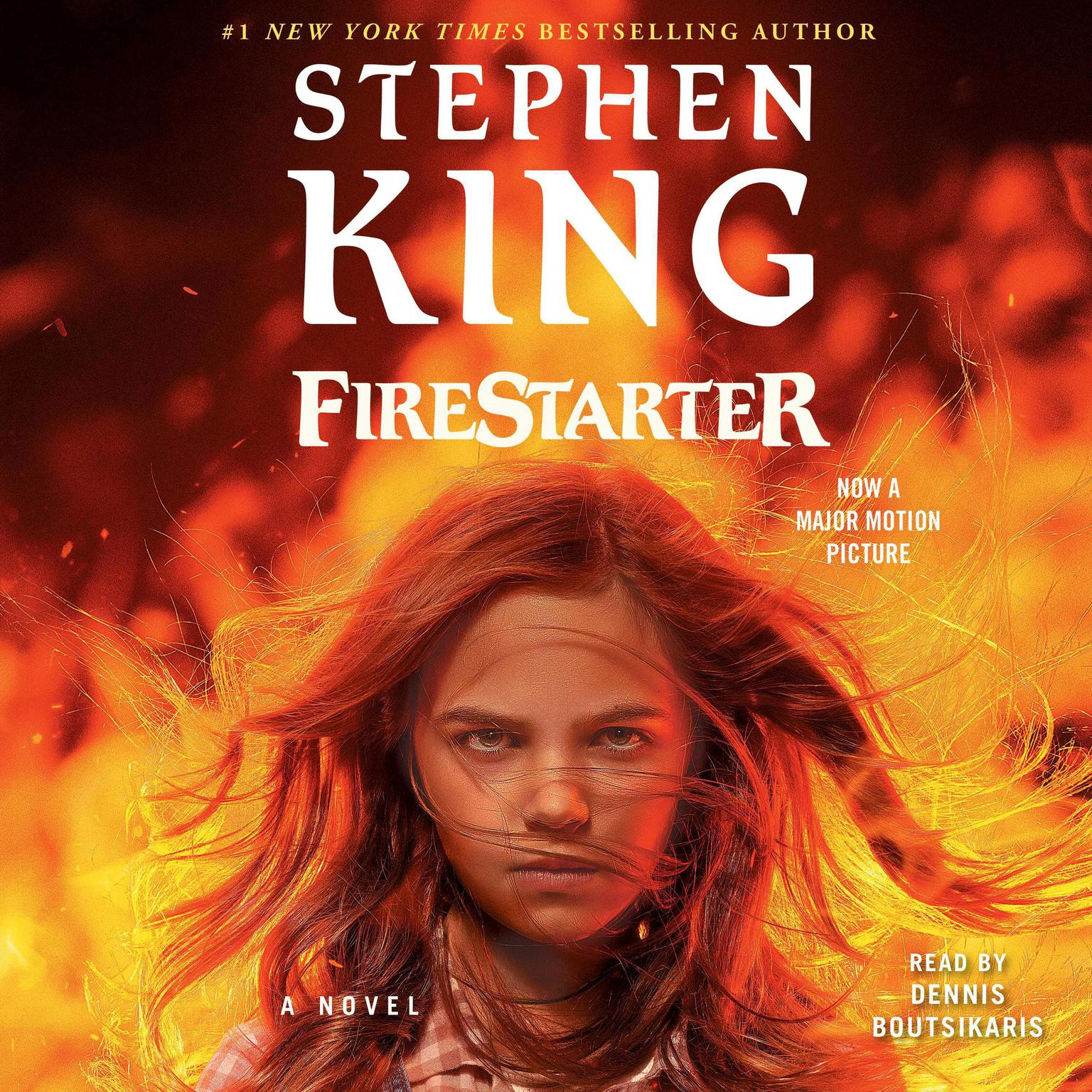 Printable Firestarter Audiobook Cover Art