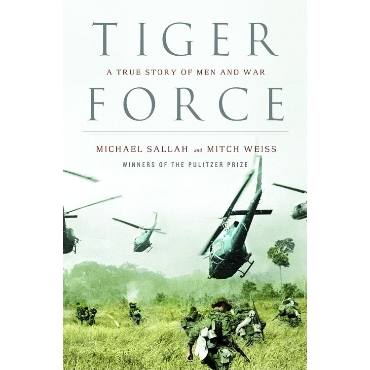 Printable Tiger Force: A True Story of Men and War Audiobook Cover Art