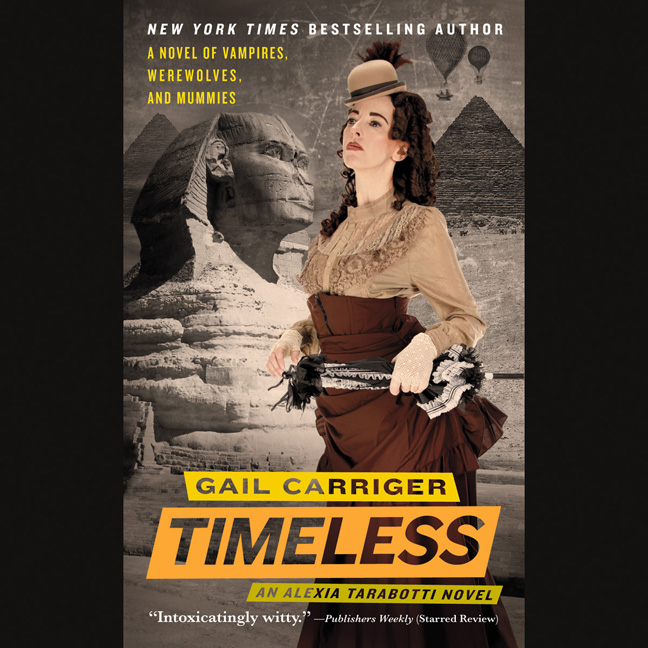 Printable Timeless Audiobook Cover Art