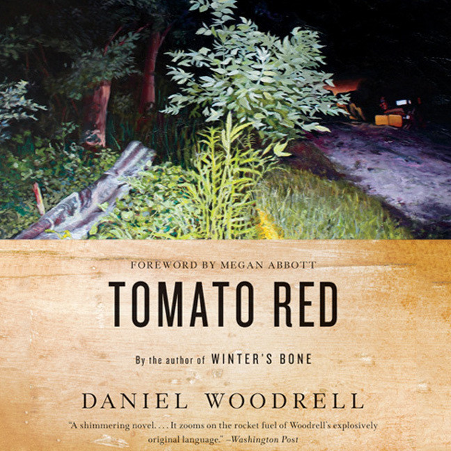 Printable Tomato Red: A Novel Audiobook Cover Art