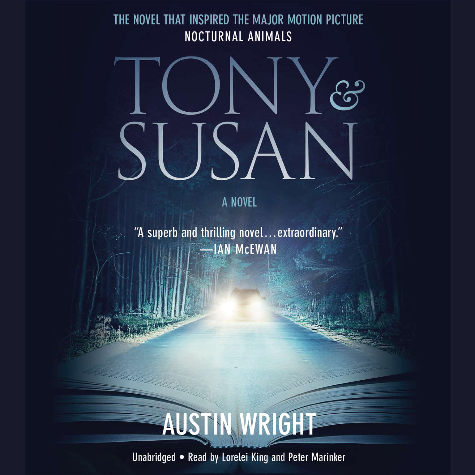 Printable Tony and Susan Audiobook Cover Art