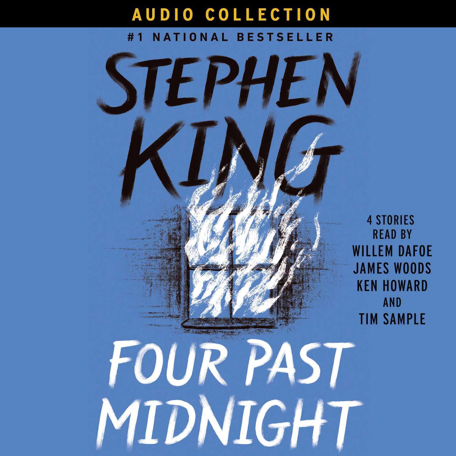 Printable Four Past Midnight Audiobook Cover Art
