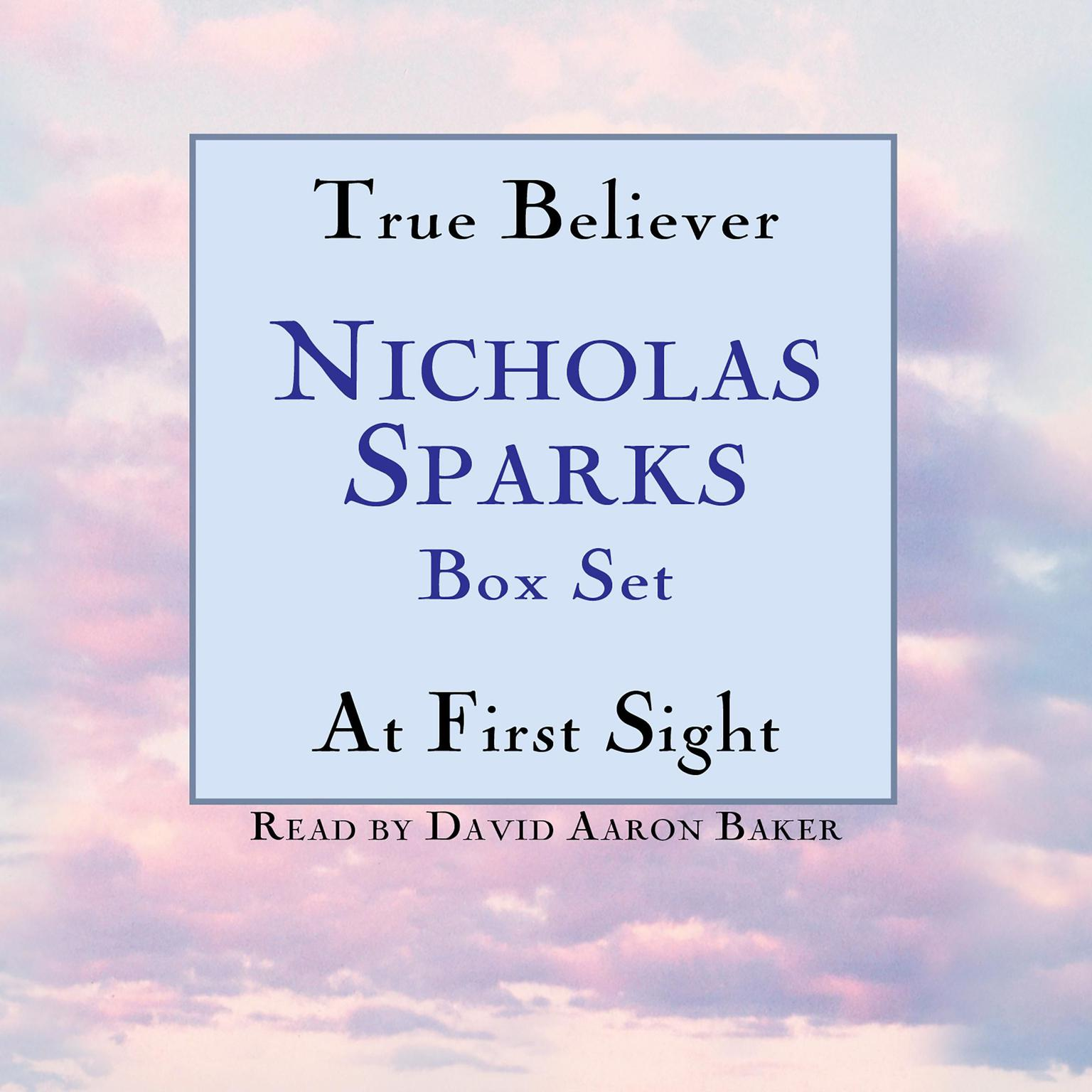 Printable True Believer / At First Sight Box Set: Featuring the Unabridged Recordings of True Believer and At First Sight Audiobook Cover Art