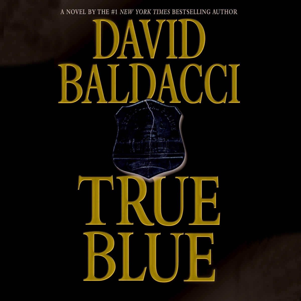 Printable True Blue Audiobook Cover Art