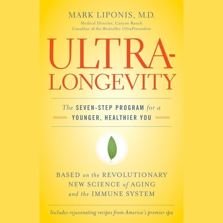 Printable UltraLongevity: The Seven-Step Program for a Younger, Healthier You Audiobook Cover Art