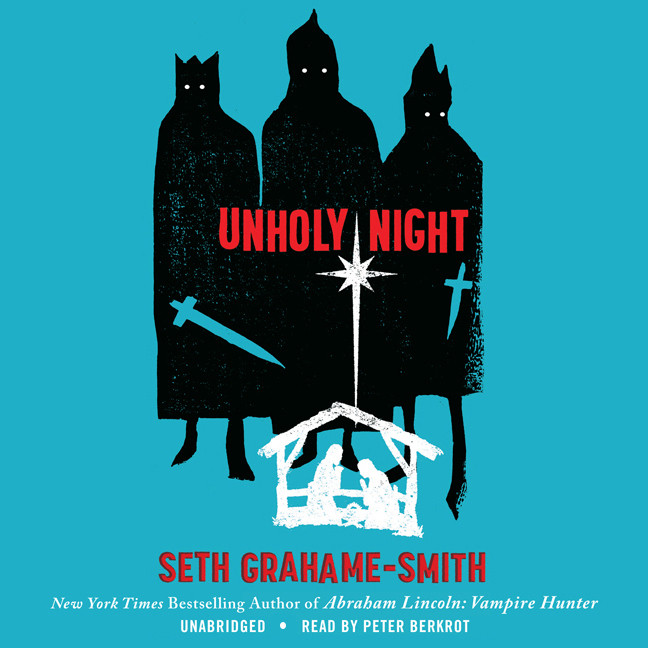 Printable Unholy Night Audiobook Cover Art