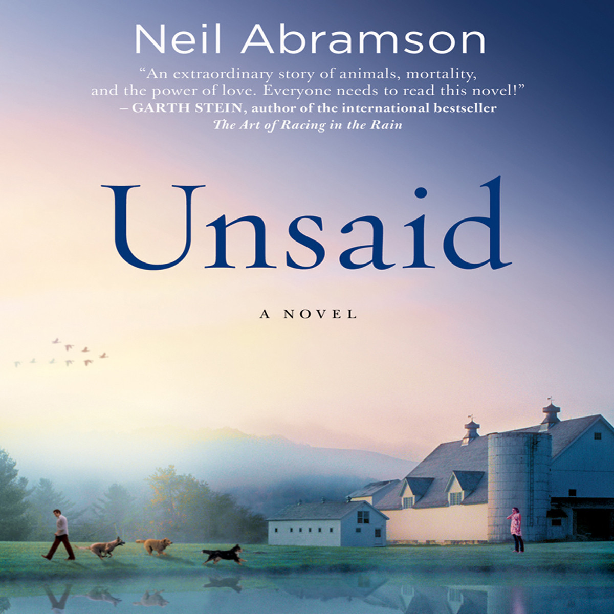 Printable Unsaid: A Novel Audiobook Cover Art