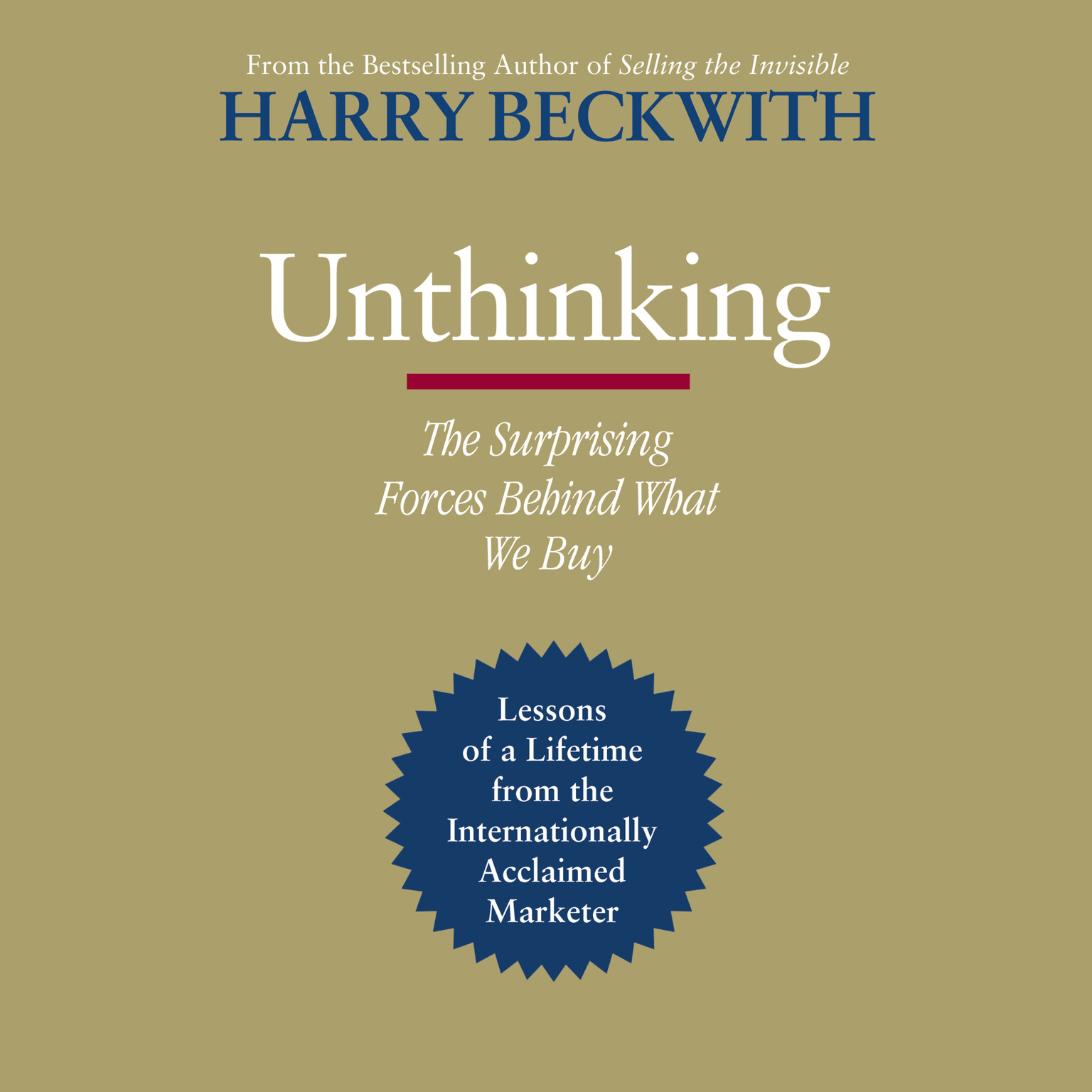 Printable Unthinking: The Surprising Forces Behind What We Buy Audiobook Cover Art