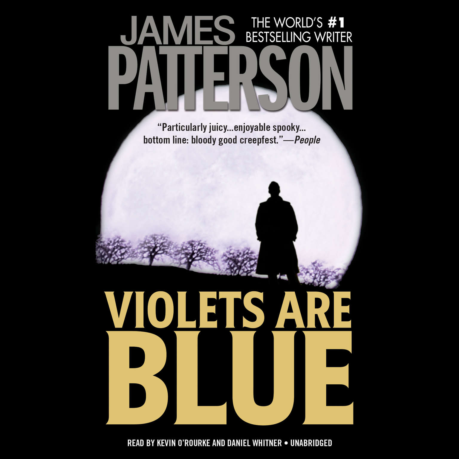 Printable Violets Are Blue Audiobook Cover Art