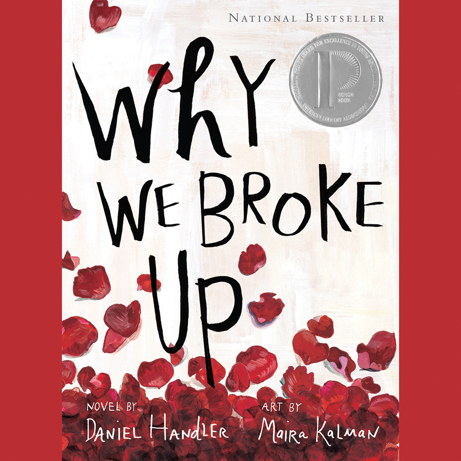 Printable Why We Broke Up Audiobook Cover Art