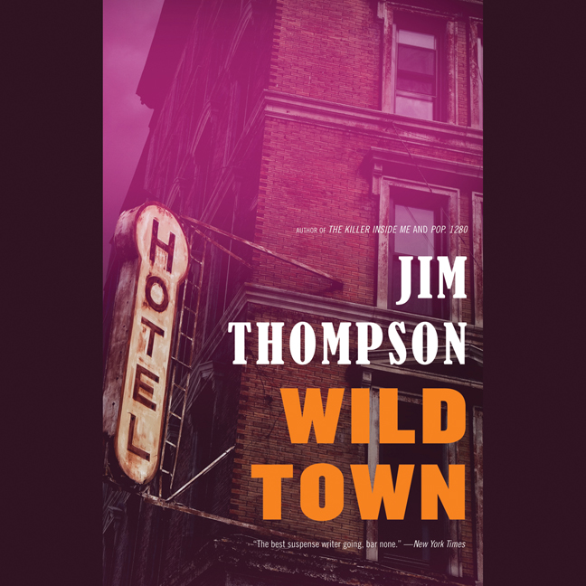 Printable Wild Town Audiobook Cover Art