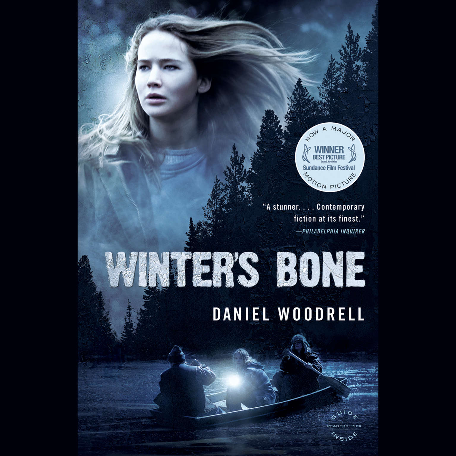 Printable Winter's Bone: A Novel Audiobook Cover Art