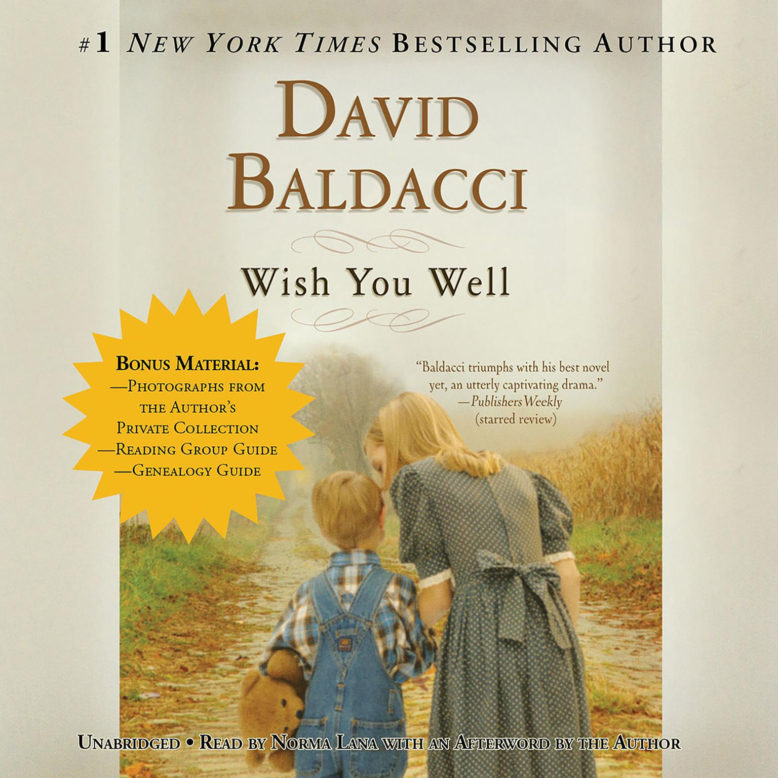 Printable Wish You Well Audiobook Cover Art