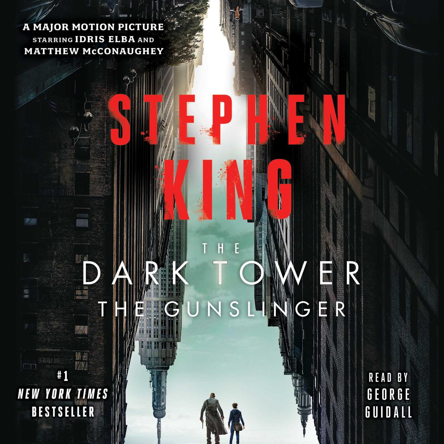 Printable Dark Tower I: The Gunslinger Audiobook Cover Art
