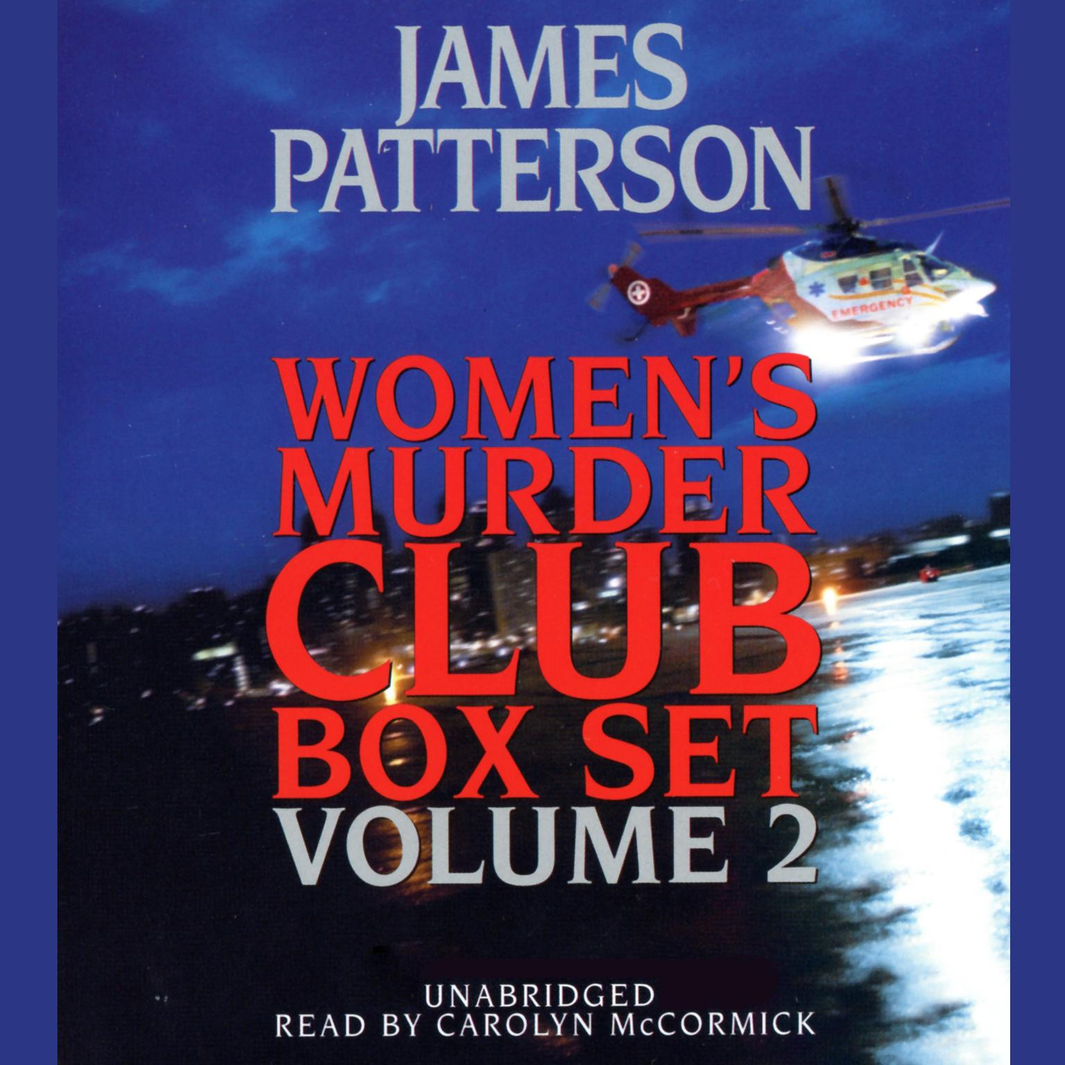 Printable Women's Murder Club Box Set, Volume 2 Audiobook Cover Art