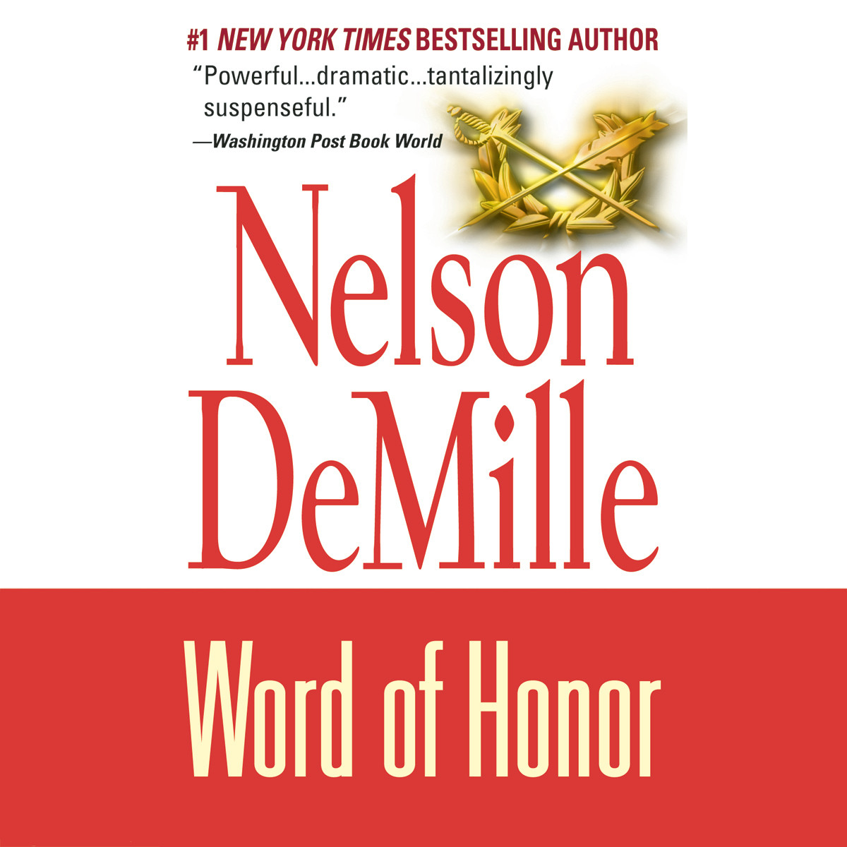 Printable Word of Honor Audiobook Cover Art