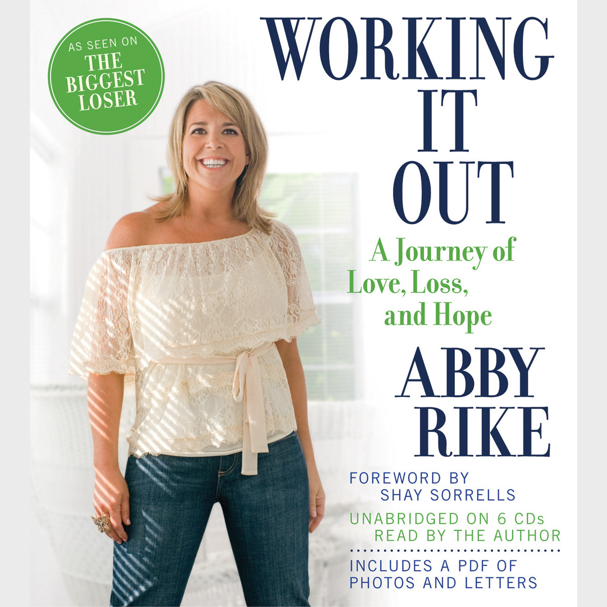 Printable Working It Out: A Journey of Love, Loss, and Hope Audiobook Cover Art