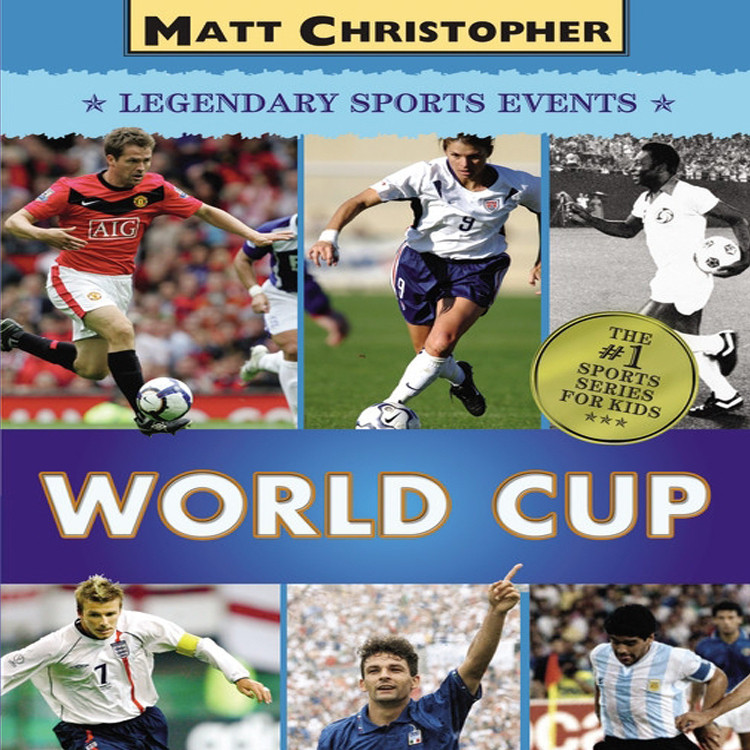 Printable World Cup Audiobook Cover Art