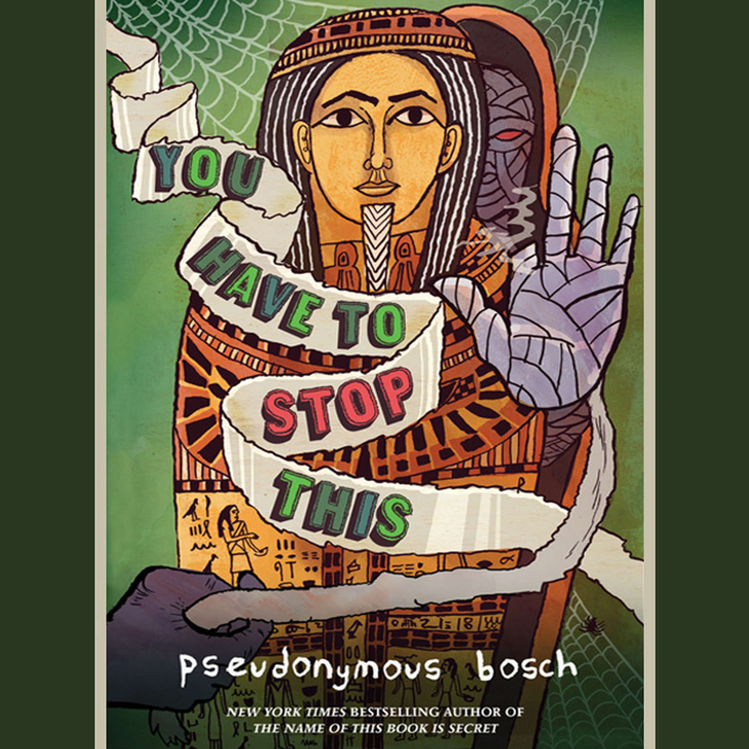 You Have to Stop This Audiobook, by Pseudonymous Bosch