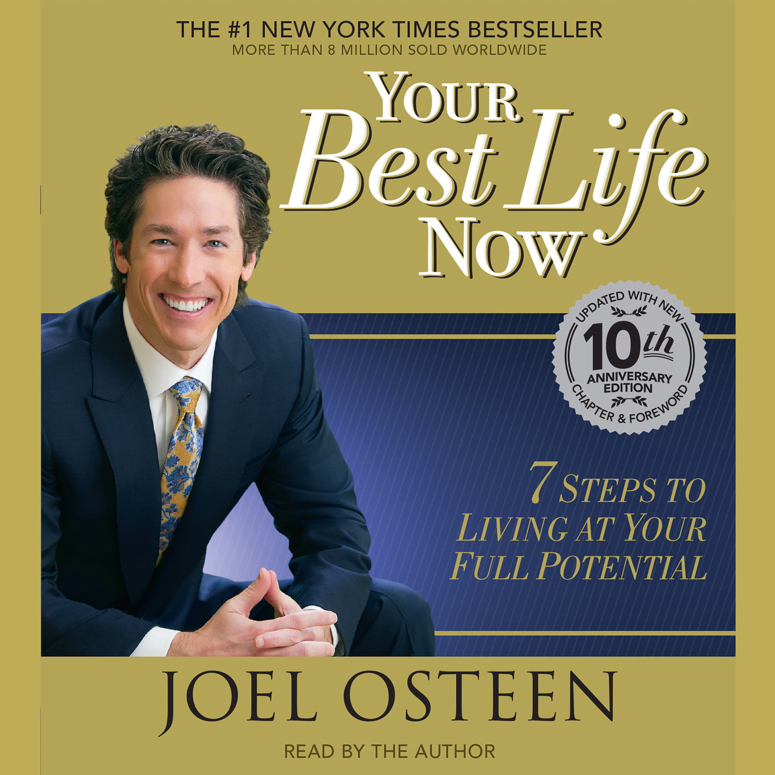 Printable Your Best Life Now: 7 Steps to Living at Your Full Potential Audiobook Cover Art