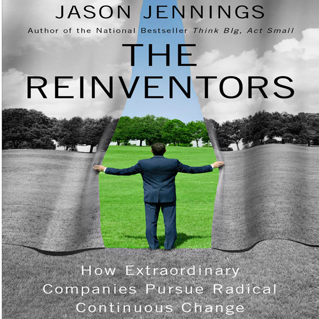 Printable Reinventors: How Extraordinary Companies Pursue Radical Continuous Change Audiobook Cover Art
