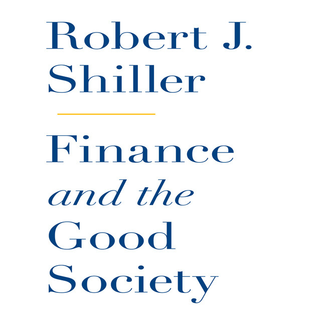 Printable Finance and the Good Society Audiobook Cover Art