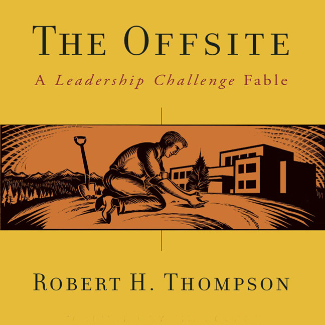 Printable The Offsite: A Leadership Challenge Fable Audiobook Cover Art