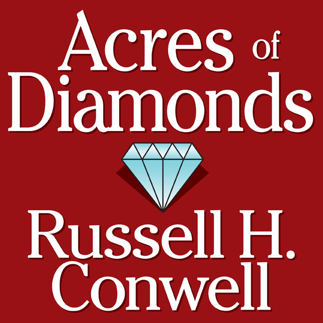 Printable Acres of Diamonds Audiobook Cover Art