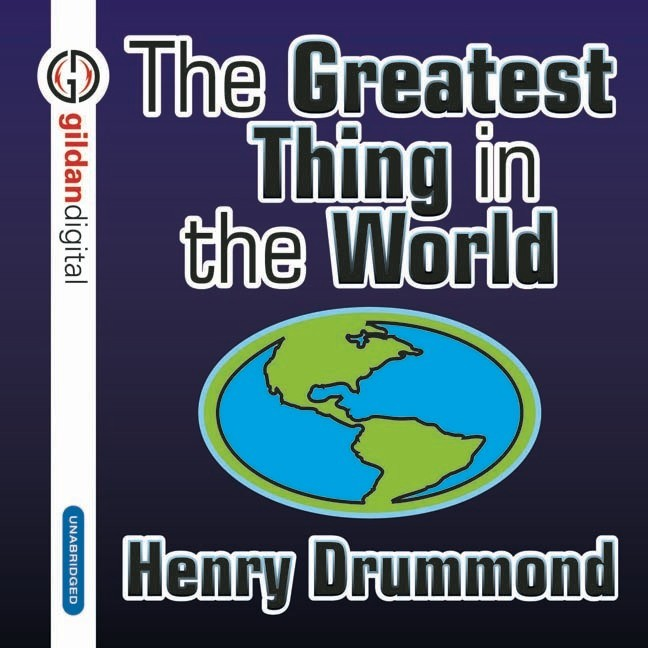 Printable The Greatest Thing in the World Audiobook Cover Art