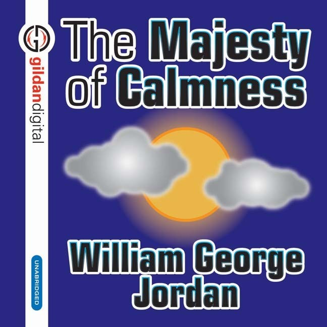 Printable The Majesty Calmness Audiobook Cover Art