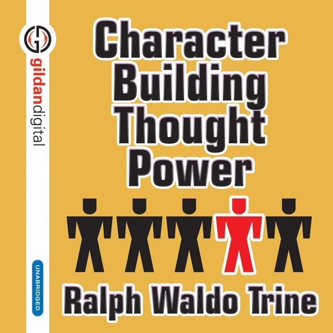 Printable Character Building Thought Power Audiobook Cover Art