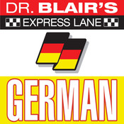Dr. Blairs Express Lane: German: German, by Robert Blair