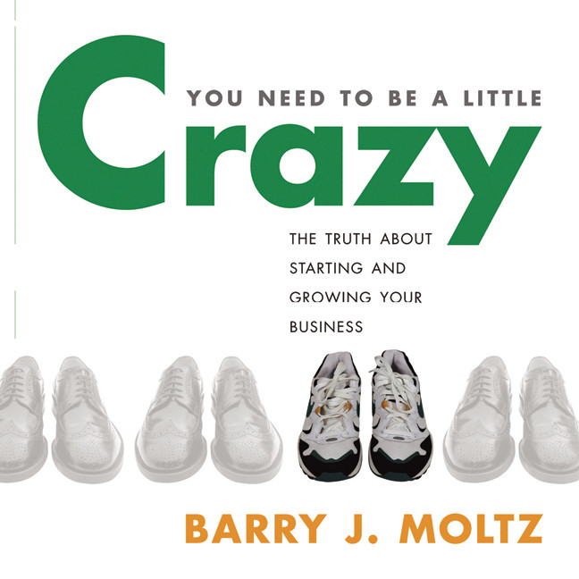 Printable You Need to Be a Little Crazy Audiobook Cover Art