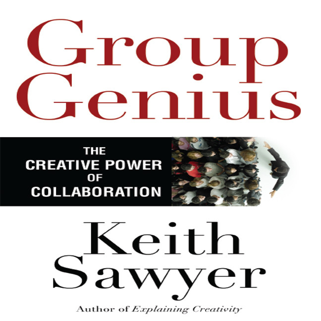 Printable Group Genius: The Creative Power of Collaboration Audiobook Cover Art
