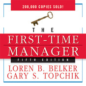 The First Time Manager Audiobook, by Loren B. Belker, Gary S. Topchik