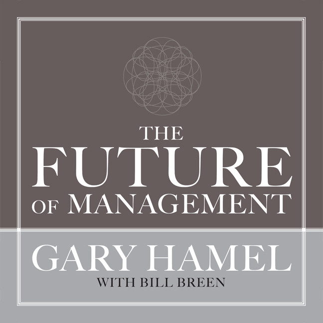 Printable The Future of Management Audiobook Cover Art
