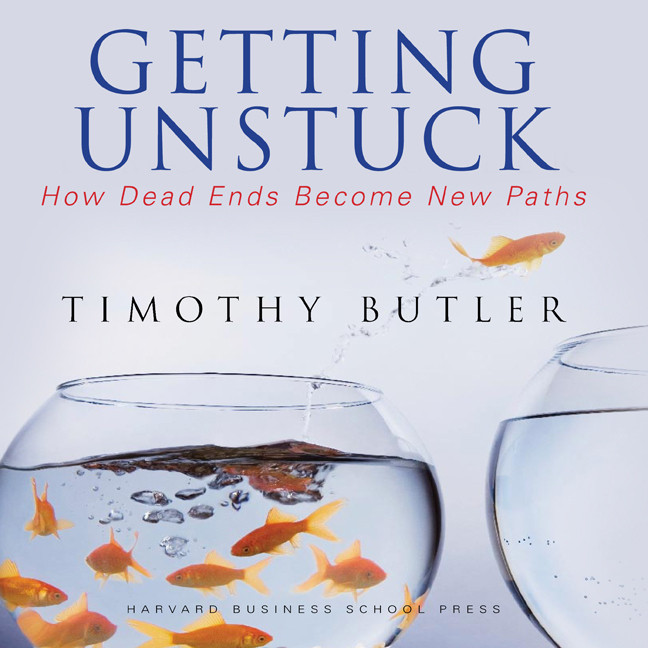 Printable Getting Unstuck: How Dead Ends Become New Paths Audiobook Cover Art
