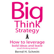 Big Think Strategy: How to Leverage Bold Ideas and Leave Small Thinking Behind, by Bernd H. Schmitt