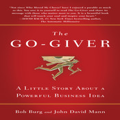 The Go-Giver Audiobook, by Bob Burg, John David Mann