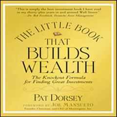 The Little Book That Builds Wealth: Morningstars Knock-out Formula Audiobook, by Pat Dorsey