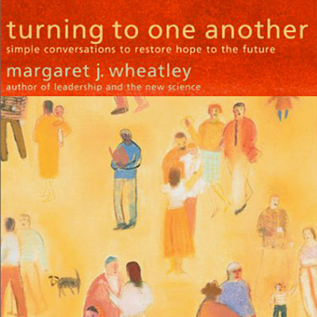 Printable Turning to One Another: Simple Conversations to Restore Hope to the Future Audiobook Cover Art