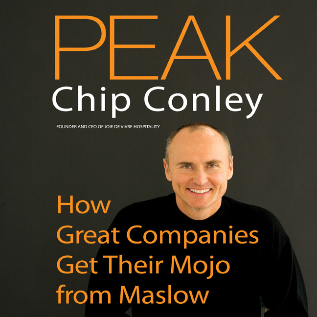 Printable Peak: How Great Companies Get Their Mojo from Maslow Audiobook Cover Art