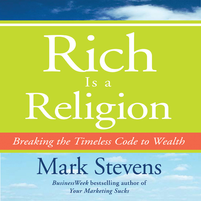 Printable Rich is a Religion: Breaking the Timeless Code to Wealth Audiobook Cover Art