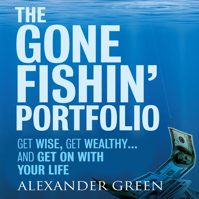 Printable The Gone Fishin' Portfolio: Get Wise, Get Wealthy … and Get on with Your Life Audiobook Cover Art