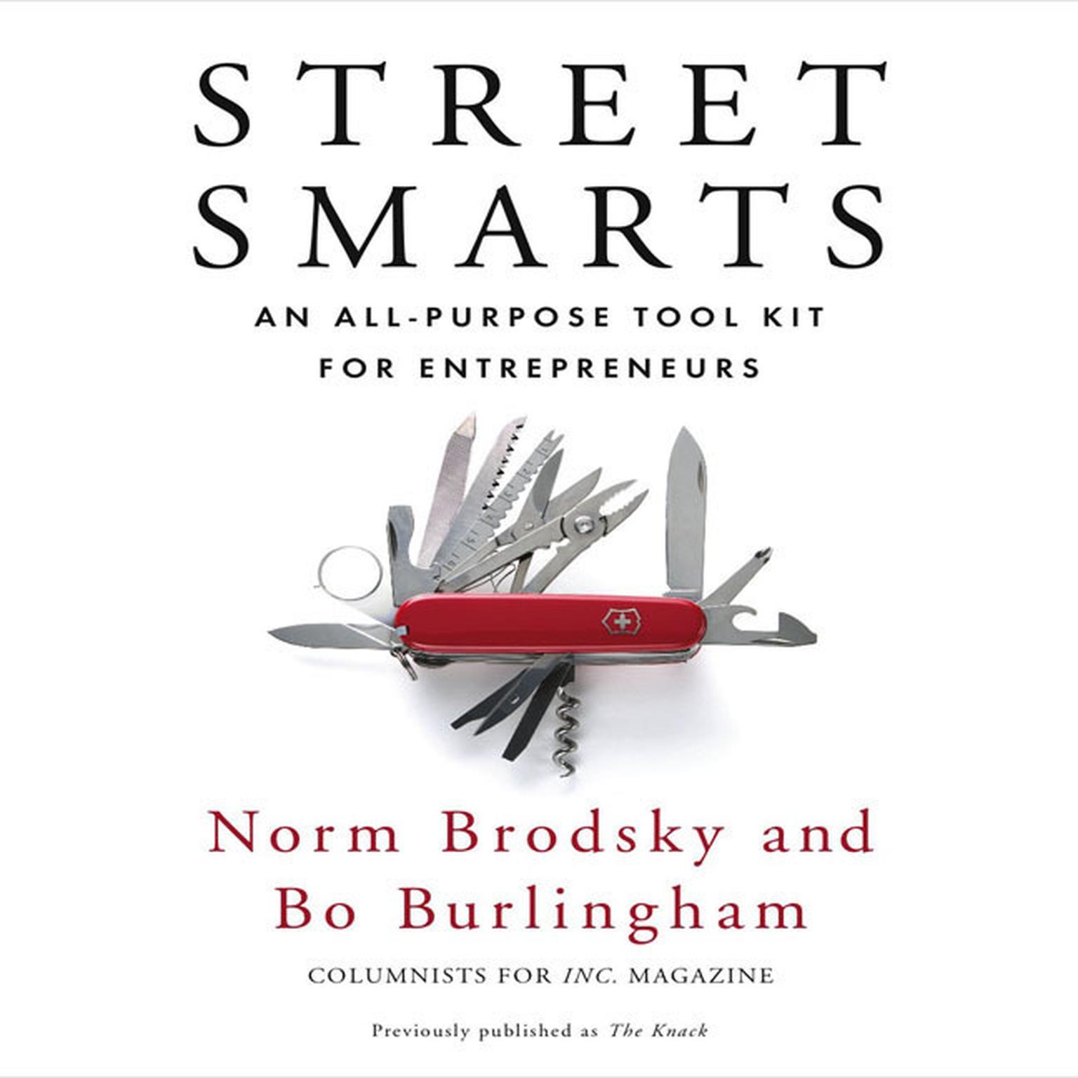 Printable Street Smarts: An All-Purpose Tool Kit for Entrepreneurs Audiobook Cover Art