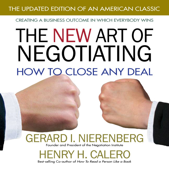 Printable The New Art of Negotiating: How to Close Any Deal Audiobook Cover Art