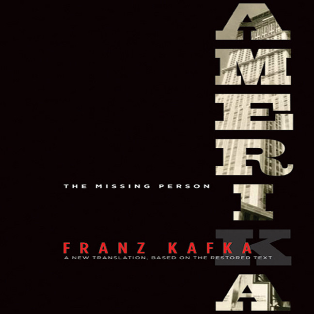 Printable Amerika: A New Translation by Mark Harman Based on the Restored Text Audiobook Cover Art
